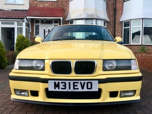 Bmw e36 m3 evolution, rare dakar yellow hardtop