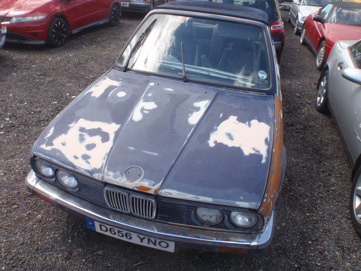 1987 BMW E30 325i Cabriolet.  Manual Leather, Early Car For Sale (picture 1 of 6)