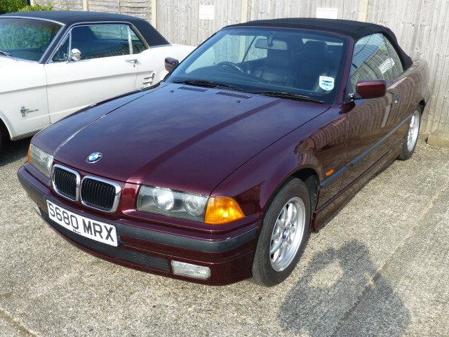 1998 E36 BMW 328i Convertible (Auto) SOLD (picture 1 of 6)