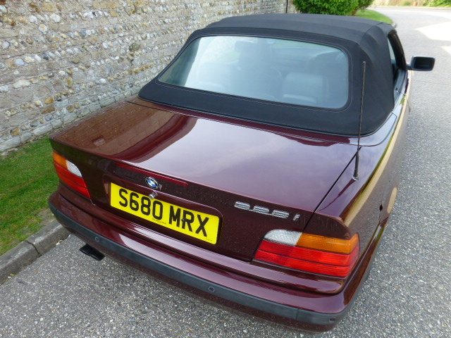 1998 E36 BMW 328i Convertible (Auto) SOLD (picture 5 of 6)