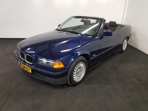 BMW 318I Convertible 1994 Mauritius blue