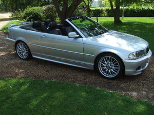 2001 BMW E46 330Ci Sport Convertible Auto only 53500 miles