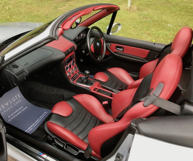 1998 BMW Z3M Roadster - 38k miles, FSH Top Spec, Fabulous example For Sale (picture 4 of 6)