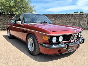 1974 left hand drive BMW E9 2500 CSA -  SOLD