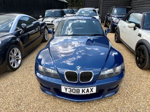 2001 BMW Z3 2.2i Individual Sport Roadster FSH+Hard Top For Sale