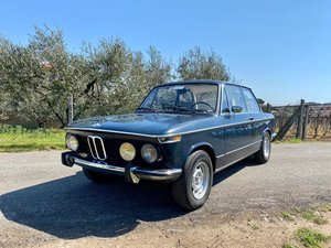 1974 BMW 2002 mode 1874, first owner, doctors car, italy