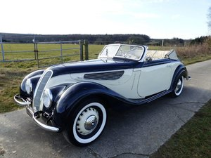 BMW 327/28 Convertible - barn find, grandly restored