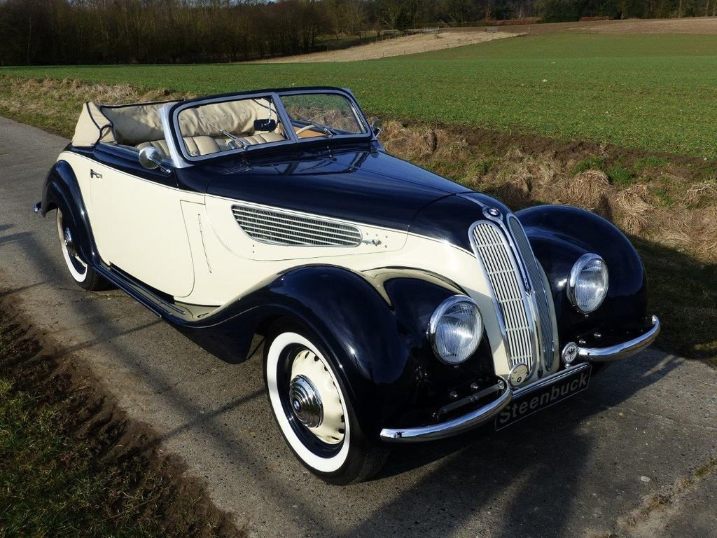1939 BMW 327/28 Convertible - barn find, grandly restored For Sale (picture 2 of 6)