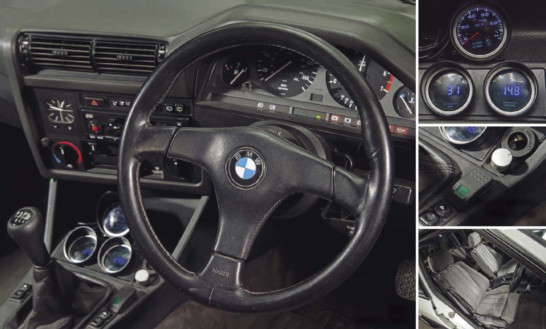 1989 520BHP BMW E30 Touring Supercharged V8 'Sleeper' For Sale (picture 4 of 6)
