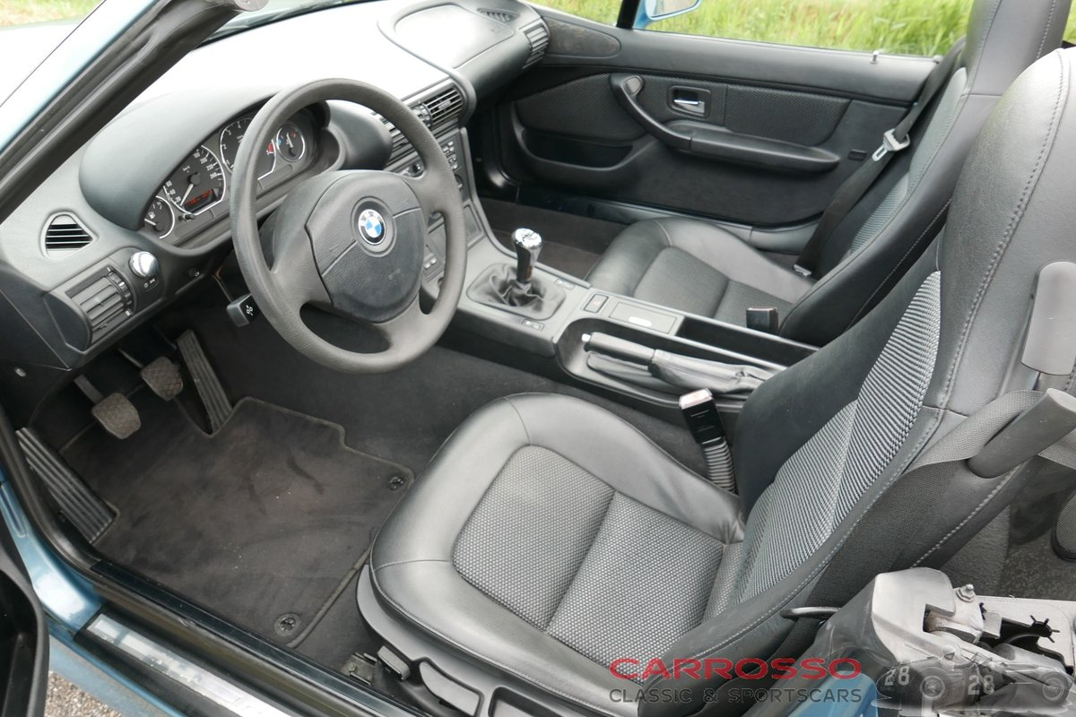 1999 BMW Z3 Roadster with only driven 117.712 KM. For Sale (picture 3 of 6)