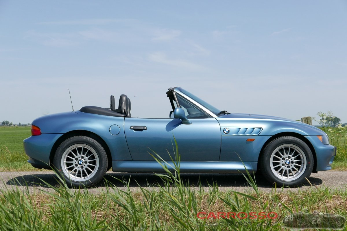 1999 BMW Z3 Roadster with only driven 117.712 KM. For Sale (picture 4 of 6)