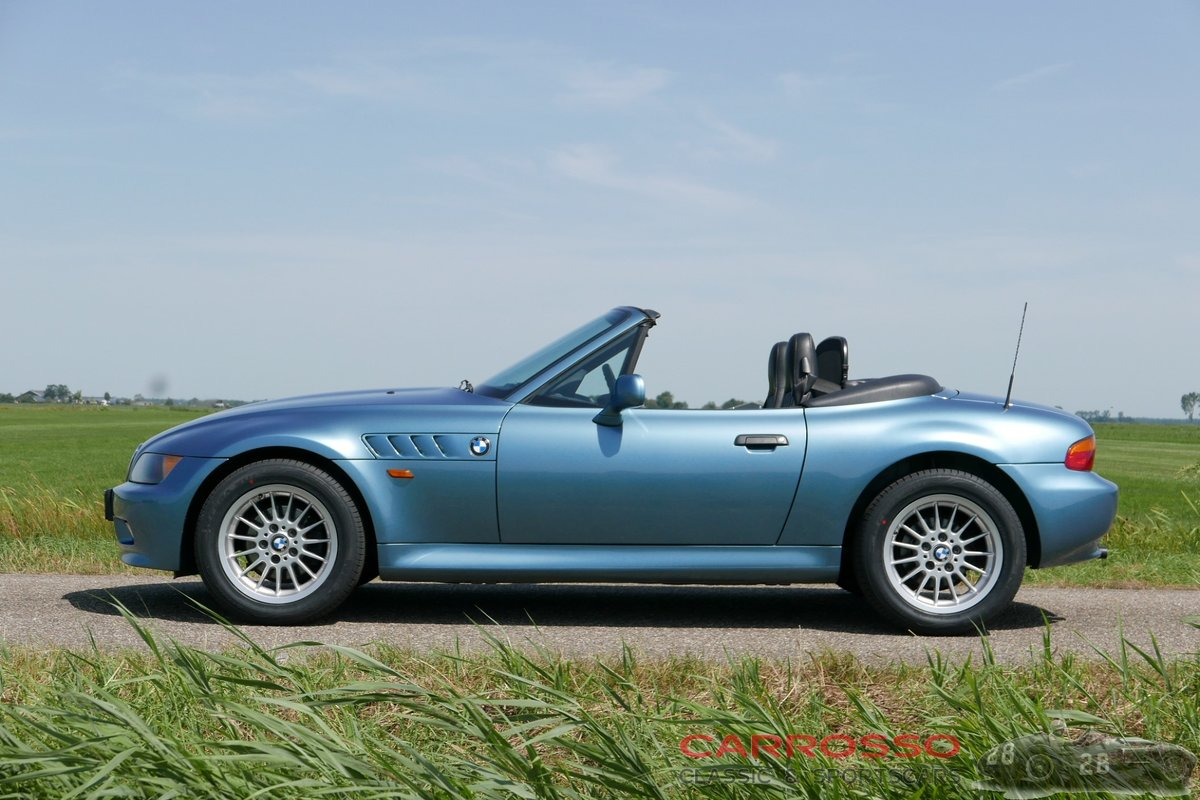 1999 BMW Z3 Roadster with only driven 117.712 KM. For Sale (picture 5 of 6)