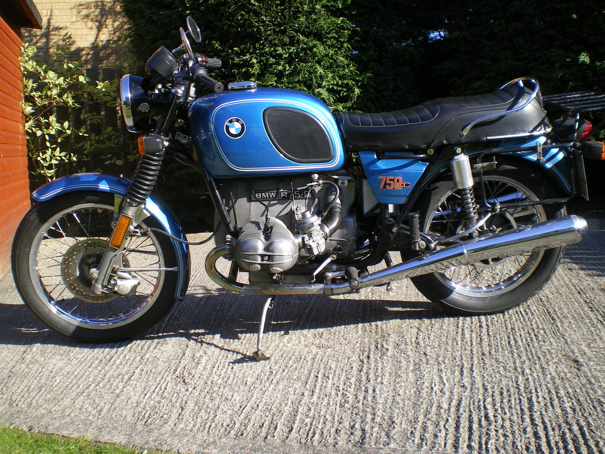 1976 BMW R75/6 , Umolested Original bike with full Craven Luggage For Sale (picture 1 of 6)
