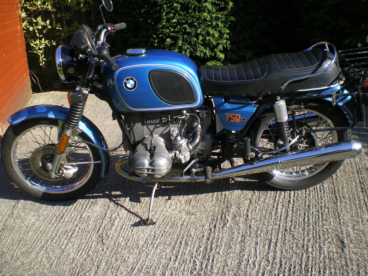 1976 BMW R75/6 , Umolested Original bike with full Craven Luggage For Sale (picture 4 of 6)