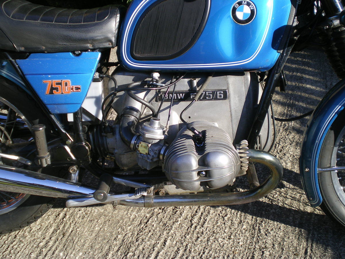 1976 BMW R75/6 , Umolested Original bike with full Craven Luggage For Sale (picture 6 of 6)