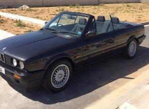 1992 BMW E30 318i Cabrio Matching Numbers