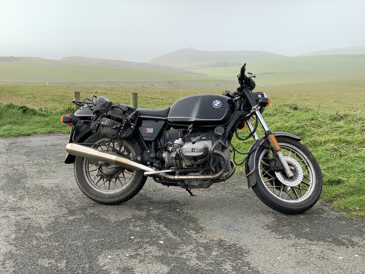 1983 BMW R100 Great running project bike For Sale (picture 2 of 3)