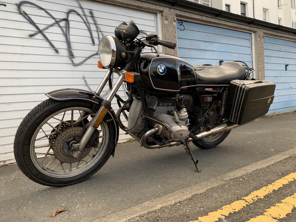 1983 BMW R100 Great running project bike For Sale (picture 3 of 3)
