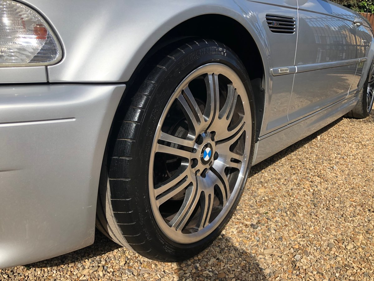 2003 BMW M3 3.2 smg convertible/sat nav/private plate For Sale (picture 5 of 6)