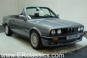 BMW 318i cabriolet 1992 E30 Granitsilber, new paint