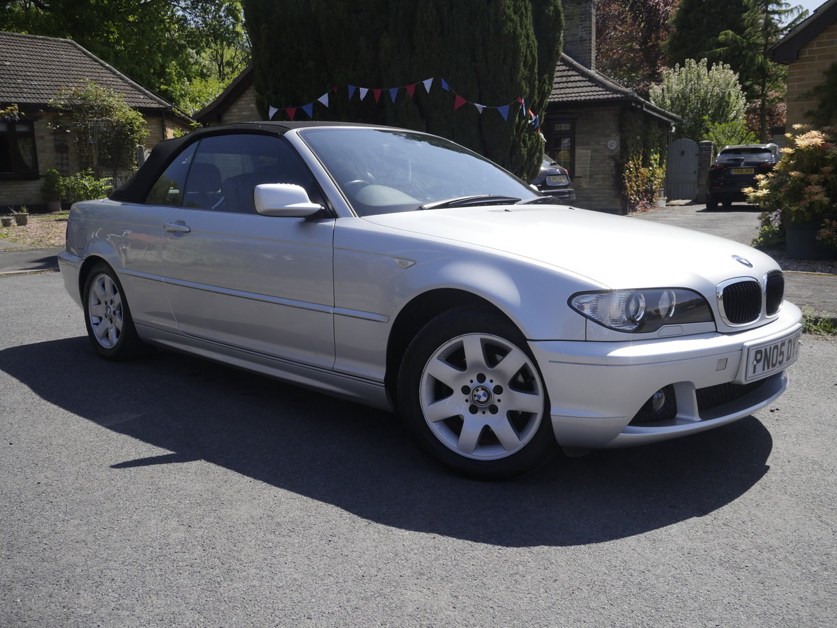 2005 BMW E46 Convertible For Sale (picture 1 of 6)