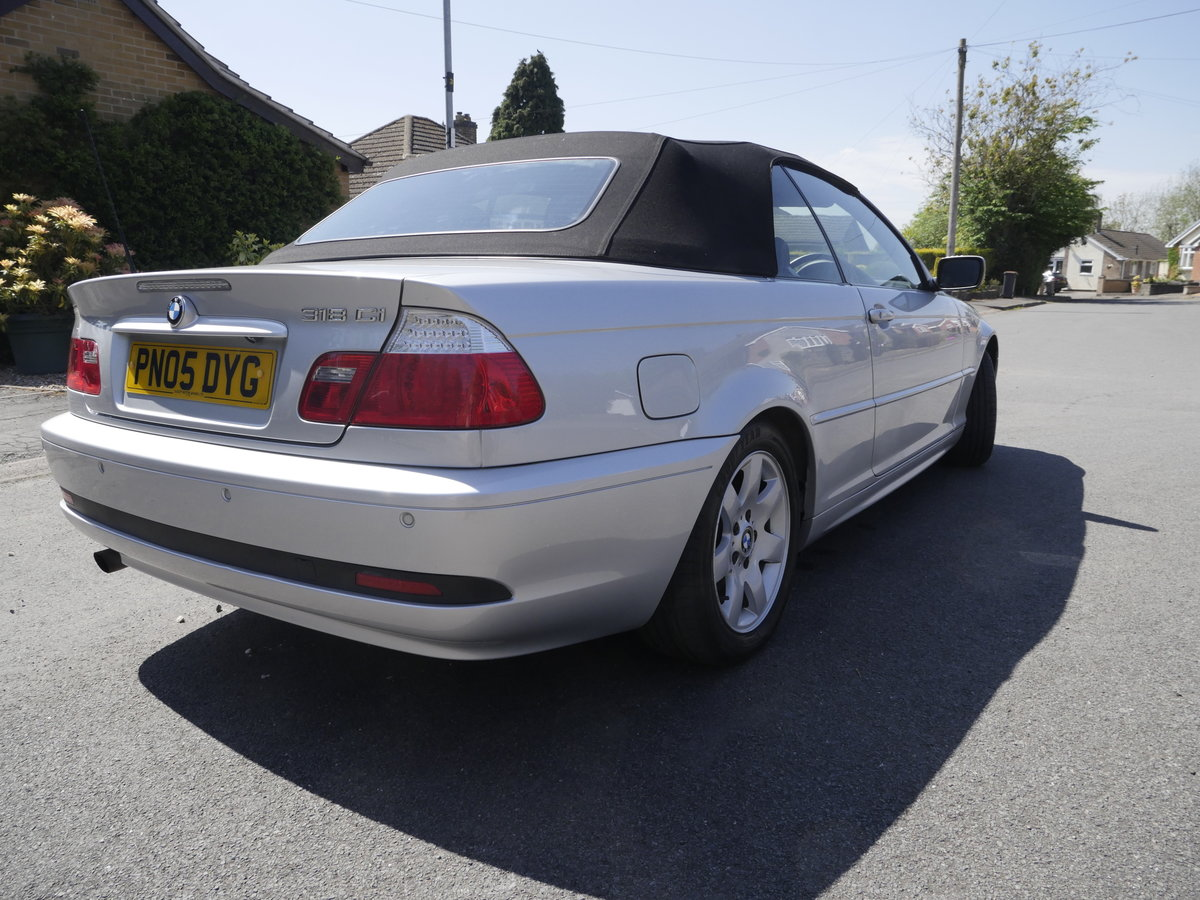 2005 BMW E46 Convertible For Sale (picture 3 of 6)