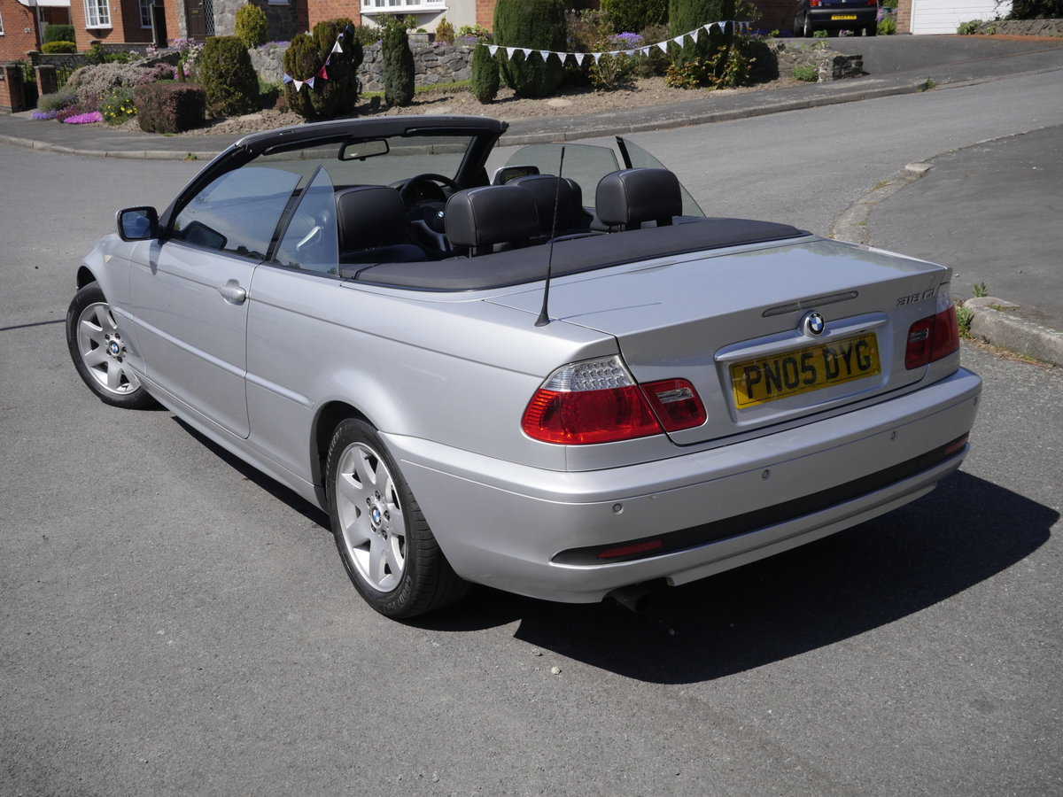 2005 BMW E46 Convertible For Sale (picture 4 of 6)