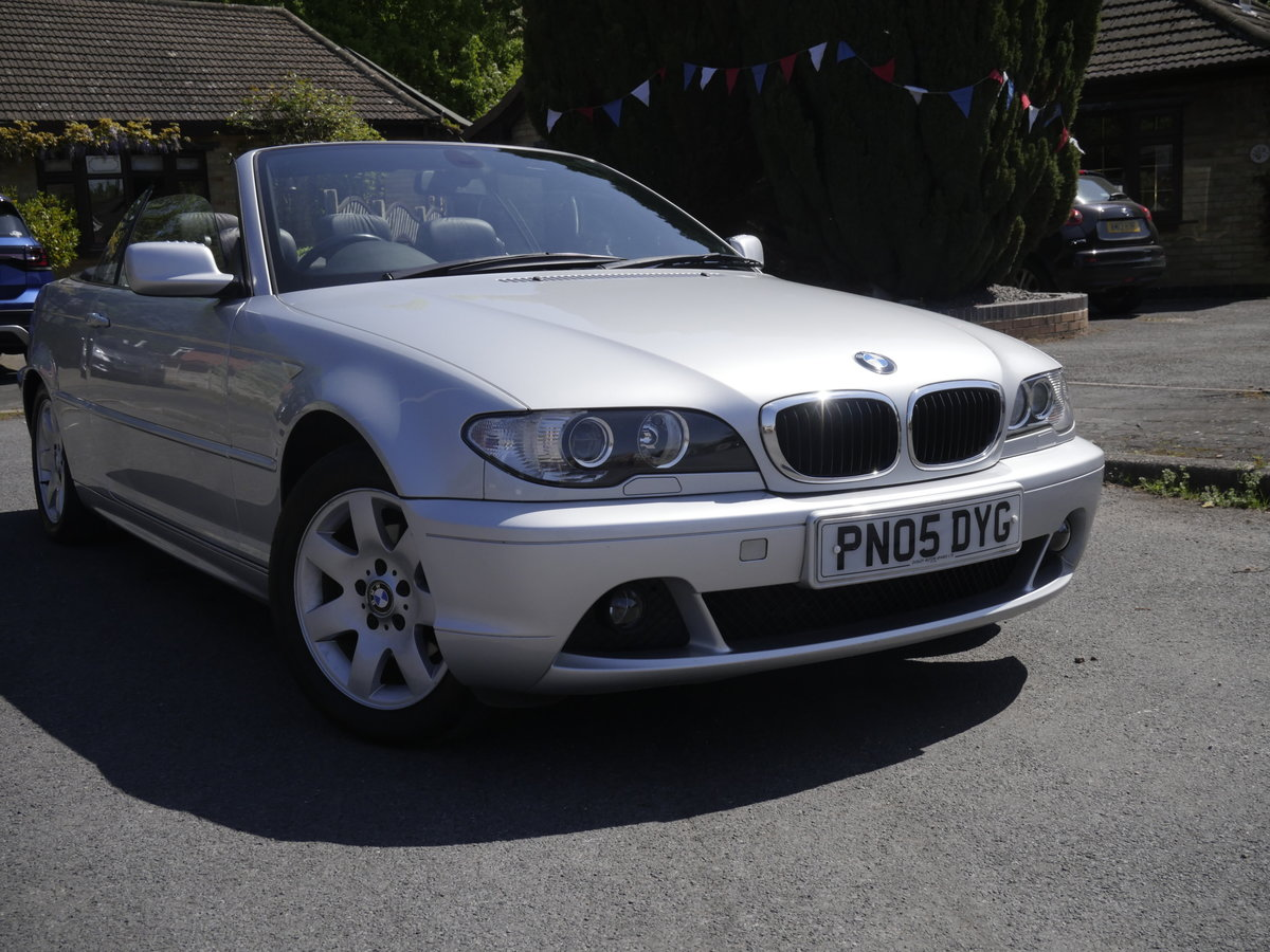 2005 BMW E46 Convertible For Sale (picture 5 of 6)