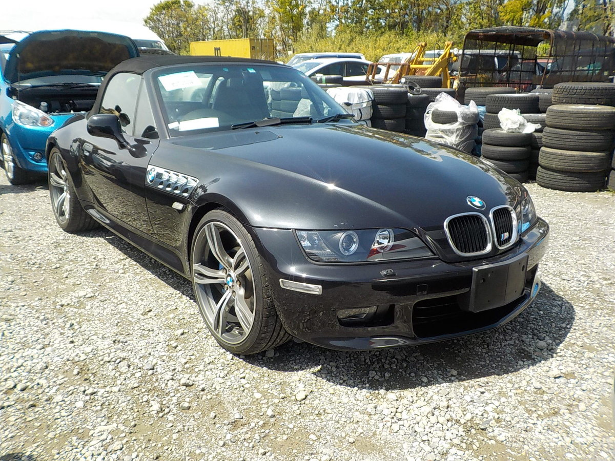 1998 BMW Z3 2.8 CONVERTIBLE 6 CYLINDER RARE ALL BLACK * ONLY 4199 SOLD (picture 1 of 6)