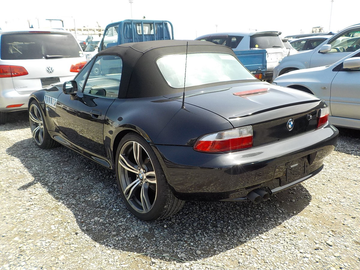 1998 BMW Z3 2.8 CONVERTIBLE 6 CYLINDER RARE ALL BLACK * ONLY 4199 SOLD (picture 2 of 6)