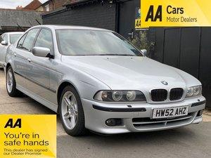 2002 BMW 5 Series 3.5 535i Sport 4dr For Sale