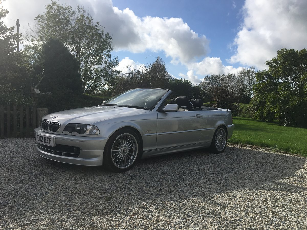2002 BMW ALPINA B3, 3.3, convertible, rare car For Sale (picture 1 of 6)