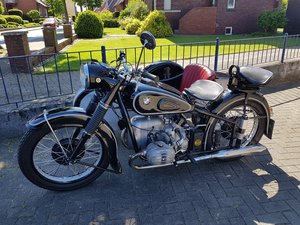 BMW R 51/3 with Stoye sidecar