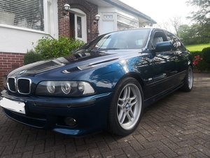 2003 BMW E39 Aegean Blue Edition **Paddle Shift** For Sale