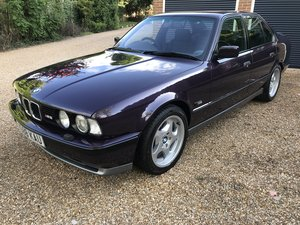BMW M5 3.8 E34, recent £40k restoration, stunning