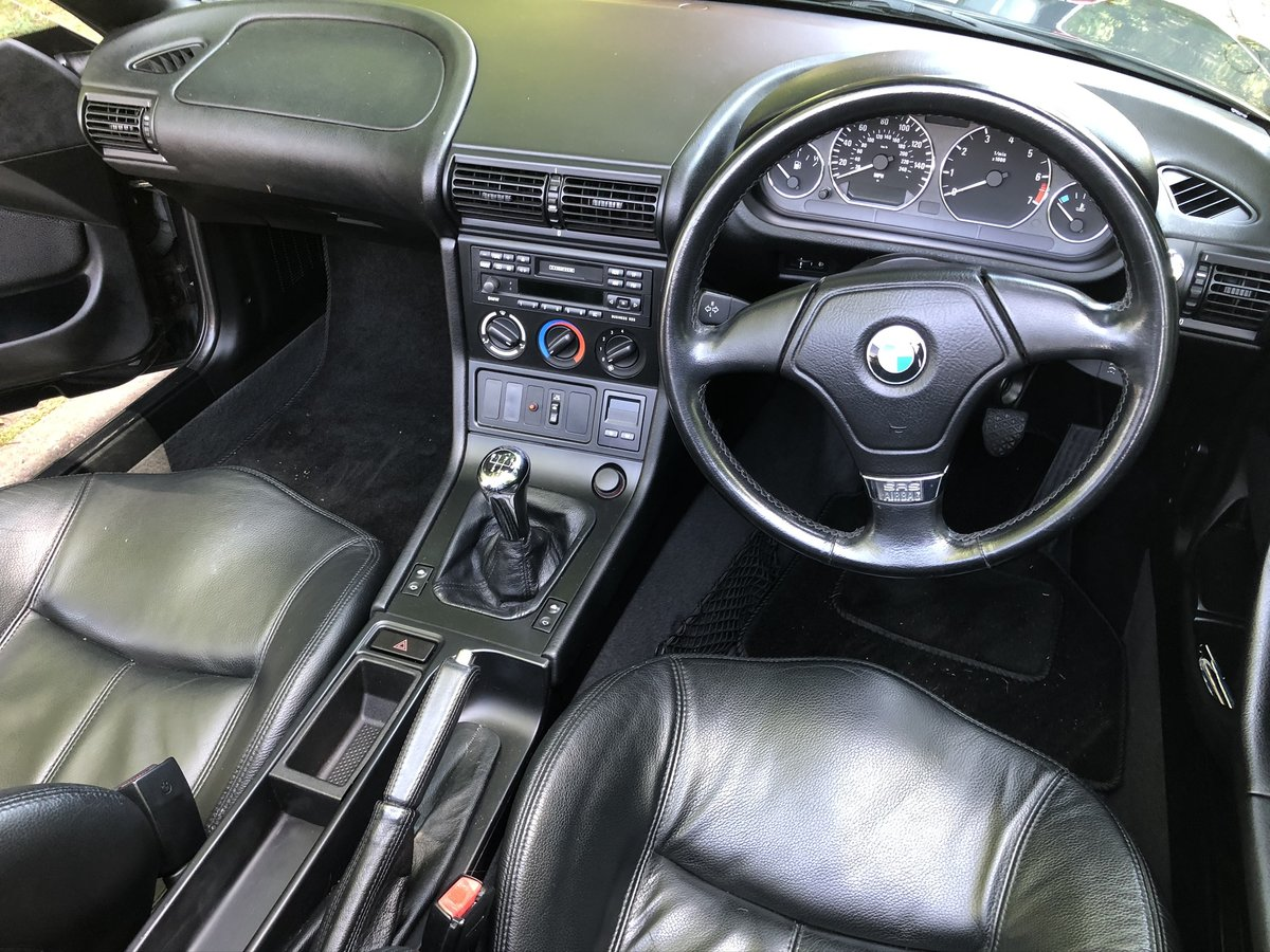 1997 BMW Z3 Roadster Originally Registered In Jersey. SOLD (picture 2 of 6)