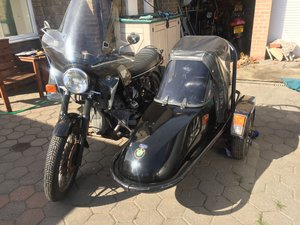 1981 BMW r100 outfit