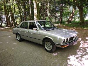 1979 BMW 520 E12, FREE TAX, NO ADV MOT, 160 PHOTOS.