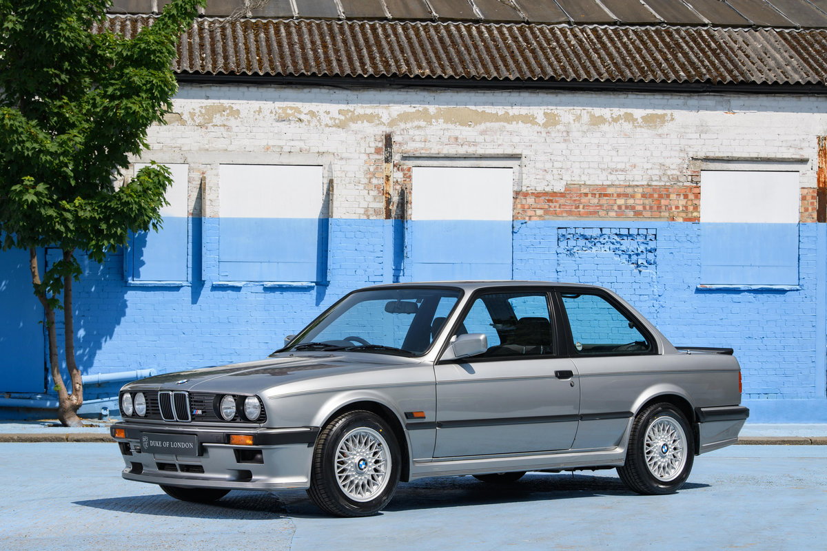 1987 BMW E30 325i Sport MTech 1 Manual For Sale (picture 1 of 12)