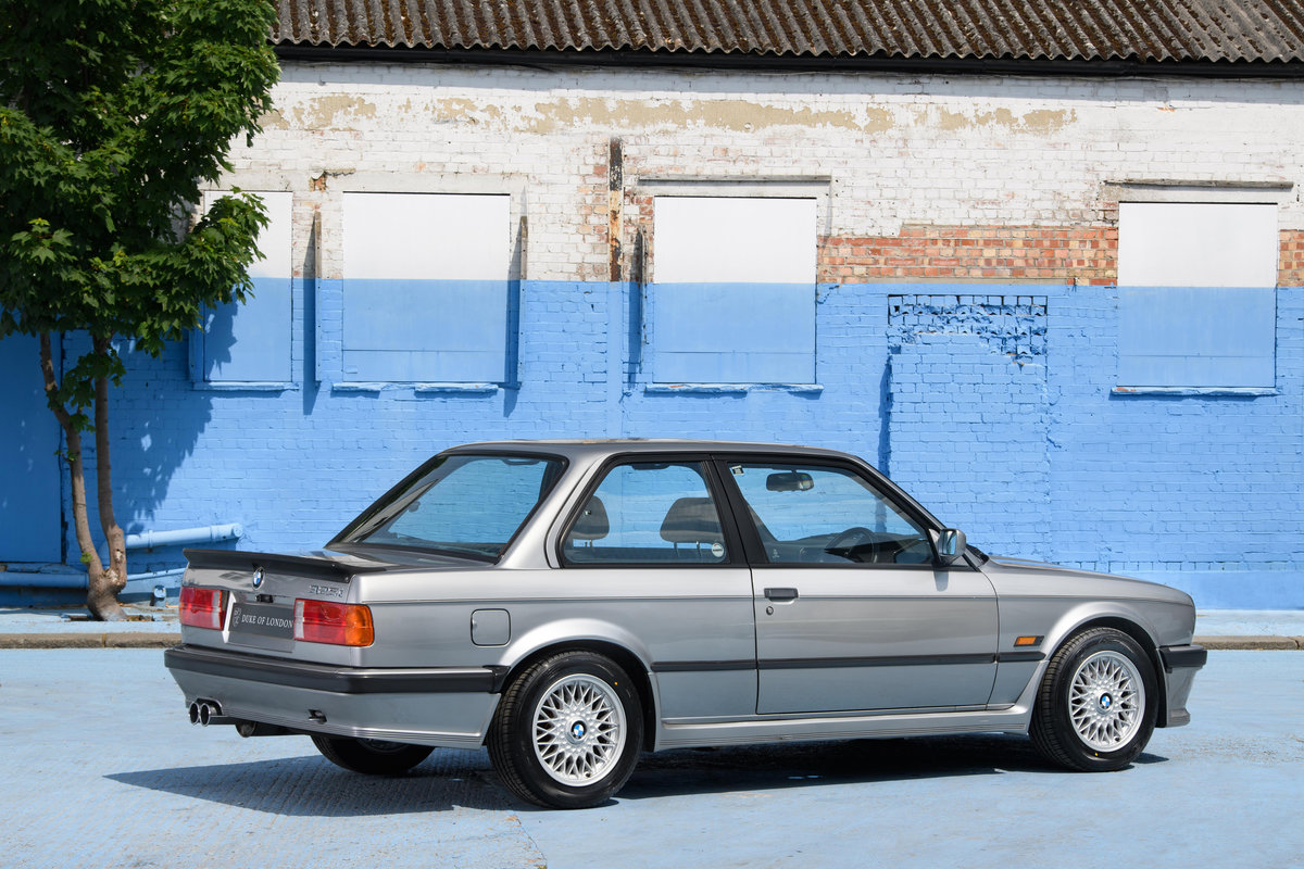 1987 BMW E30 325i Sport MTech 1 Manual For Sale (picture 4 of 12)
