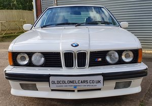 Picture of 1988 Superb BMW M635 CSI (M6) - Rare Highline - Full History SOLD