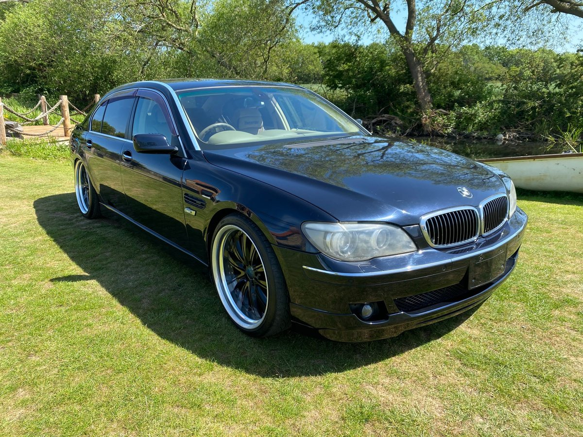 2006 BMW 7 SERIES 750li 4.8 AUTOMATIC LWB * VERY HIGH SPEC * SOLD (picture 1 of 6)