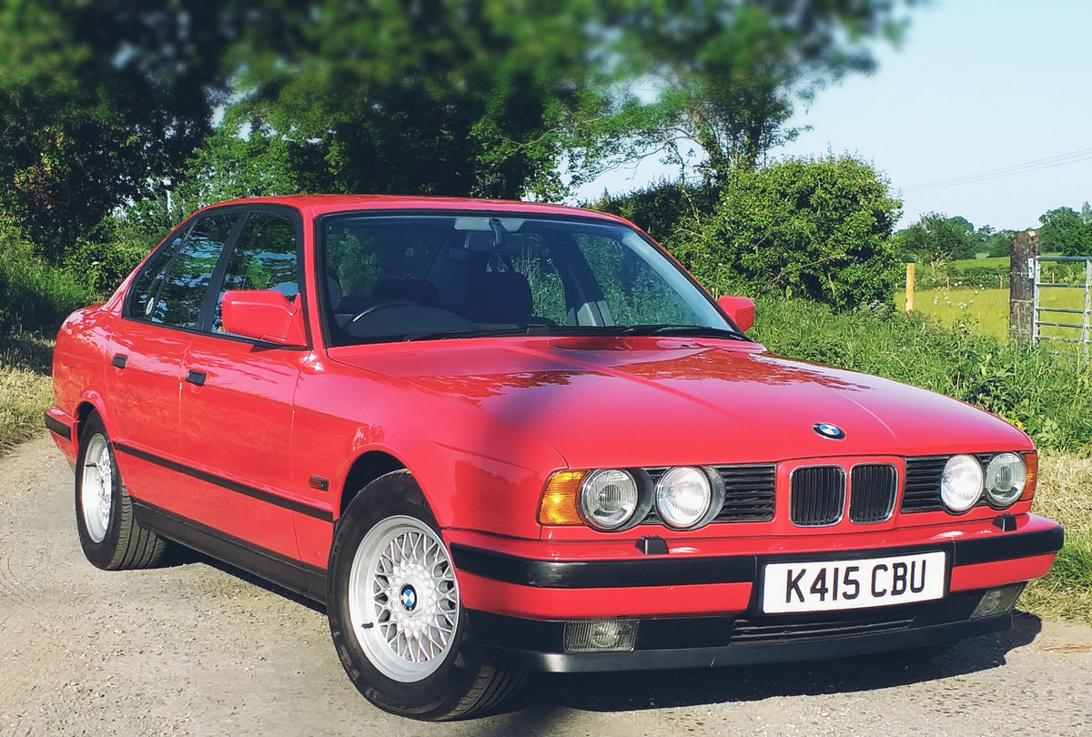 1992 BMW e34 535i - 59k miles FSH Collectors Car SOLD (picture 1 of 6)