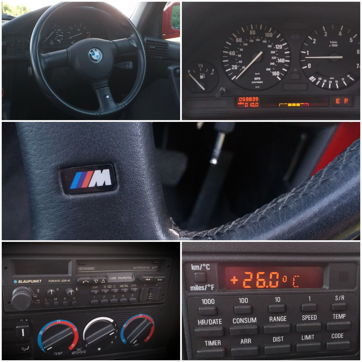 1992 BMW e34 535i - 59k miles FSH Collectors Car SOLD (picture 4 of 6)