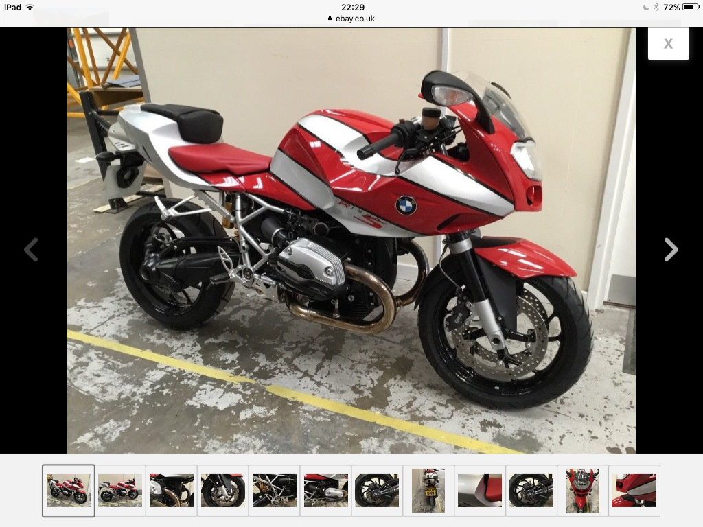 2006 BMW R1200s 1800 mile mint! sold 24 hours! For Sale (picture 1 of 6)