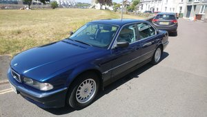 Bmw e38 7 series low mileage biarritz blue
