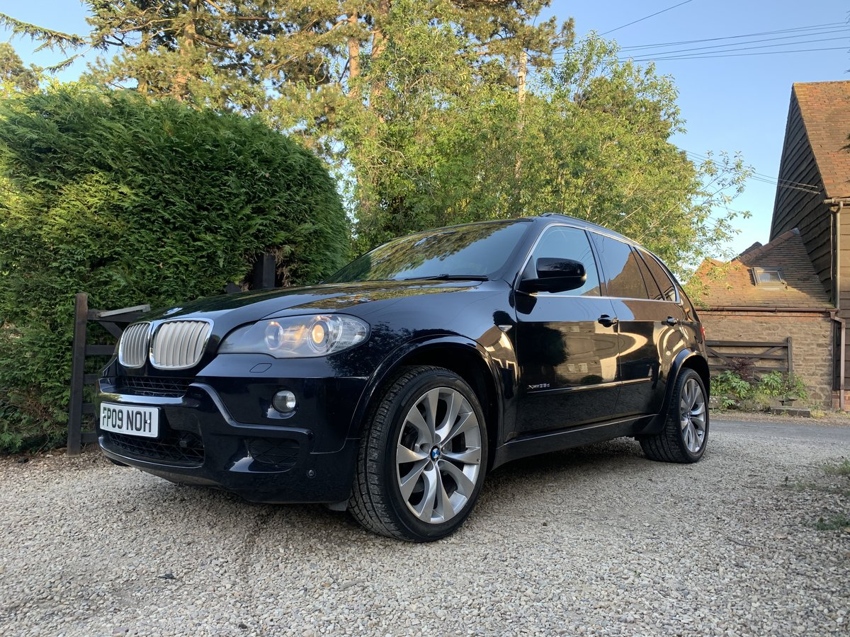 2009 X5 bmw msport xdrive diesel 35d For Sale (picture 1 of 6)