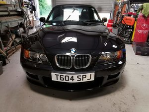 1999 BMW Z3 2.8Ltr in COSMOS BLACK metallic