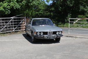 BMW 2800CS Automatic, UK RHD One Family 36 Years