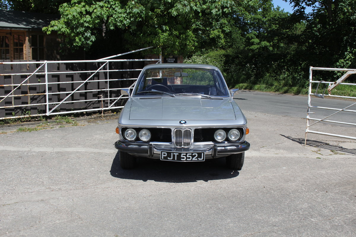 1970 BMW 2800CS Automatic, UK RHD One Family 36 Years SOLD (picture 2 of 19)